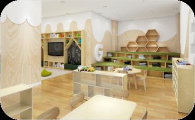 Montessori Classroom Setup