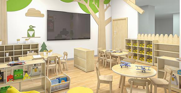 Kindergarten Classroom Layout