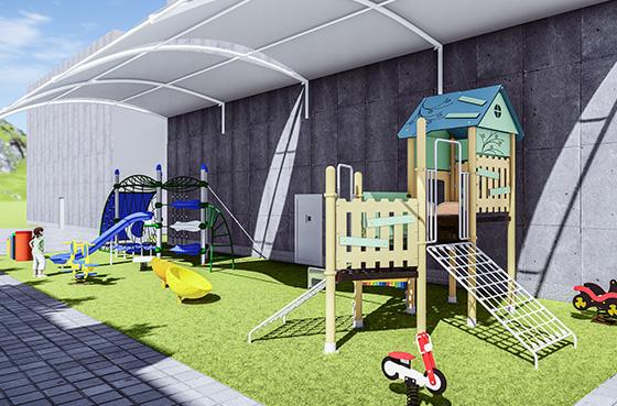 Outdoor Playground Equipment For Preschool