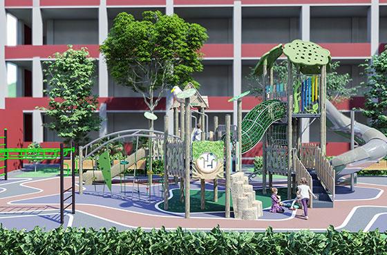 Playground Designs For Schools