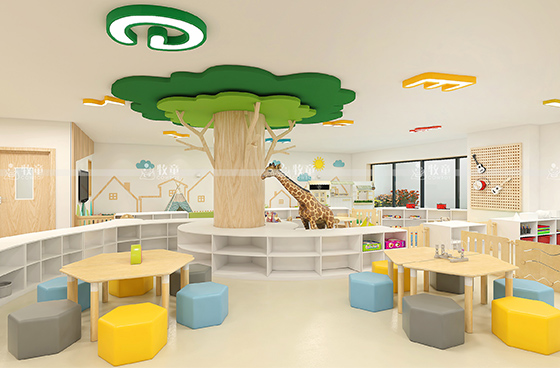 Preschool Classroom Layout